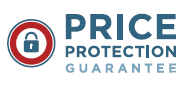 Price protection guarantee on the same brand and style product within 30 days